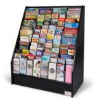 floor-standing-literature-rack-black-wood