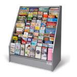 floor-standing-literature-rack-stainless-wood
